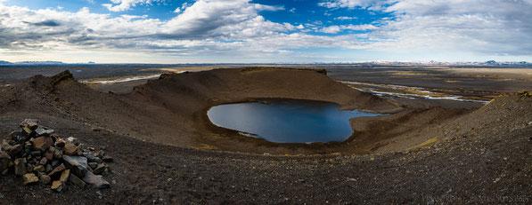 Hrossaborg, Oblivion, Crater, Explosion