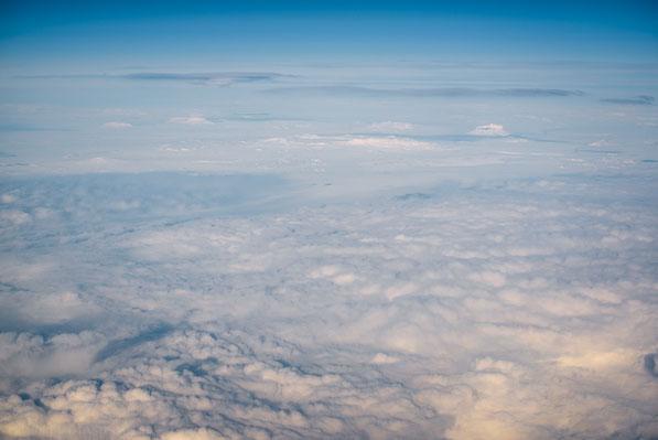 Ódáðahraun, aerial, airplane, icelandair, lava desert, winter, snow, herðubreið, askja, herdubreid