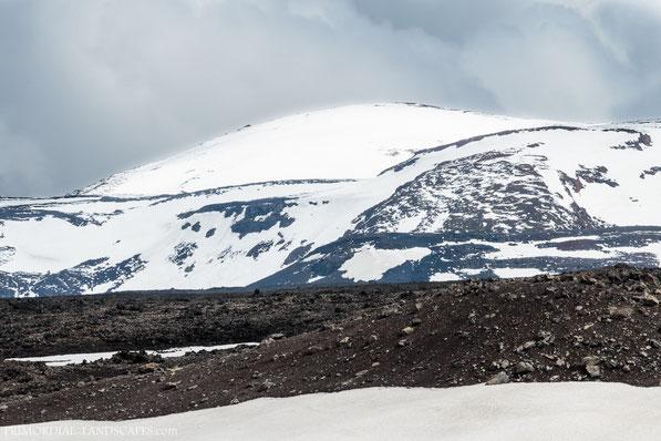 Kollur, Dyngjufjöll, Askja, Útbruni, Snow, Ódáðahraun, Odadahraun, Lava, Iceland, Island
