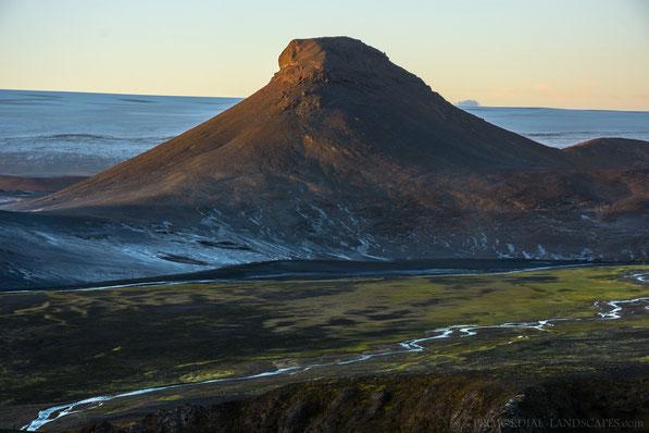 Deilir, Vonarskarð, Vonarskard, Vatnajökull, Snapadalur, Snappadalur, Iceland, Island