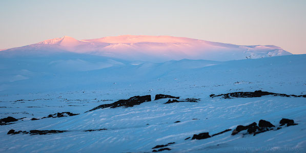 Eggert, Winter, Volcano, Kollóttadyngja, Ice, Snow, Sunset, Cold, Ódáðahraun, Odadahraun, Lava, Iceland, Island