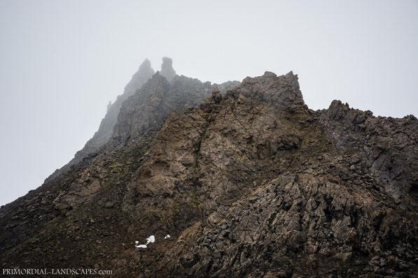 Lokatindur, Lockstindur, tuff, Tvíburatindur, Útbruni, Dyngjufjöll, Askja, Ódáðahraun, Island