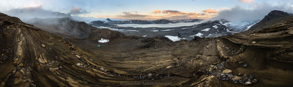 Þórisdalur, Thorsidalur, Porisdalur, Þórisjökull, Langjökull, austurhryggur, klakkur