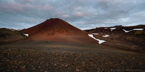 Hafragjá, Ódáðahraun, Liparit, Palagonit, Hilleberg, Nammatj, Tunnel, Wind, Lava, Trekking, Tent, Zelt