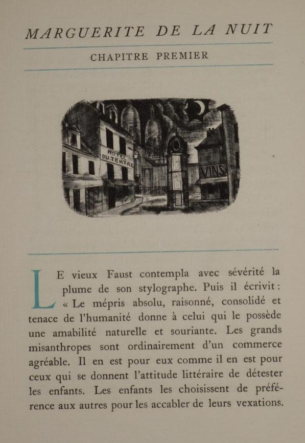 livre rare ancien, édition originale, Pierre Mac Orlan,  Marguerite de la nuit