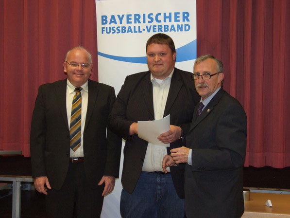 v.l. Alexander Männlein, Stefan Gebhardt, Dieter Habermann