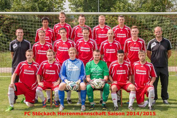 Herren Saison 2014/2015 (Zum Vergrößern bitte das Bild anklicken!)