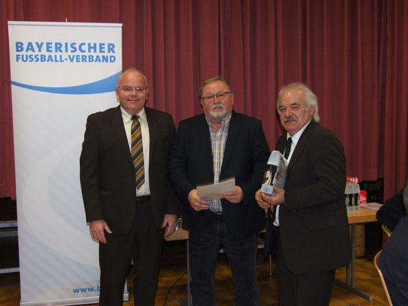 v.l. Alexander Männlein, Walter Rösner, Max Habermann