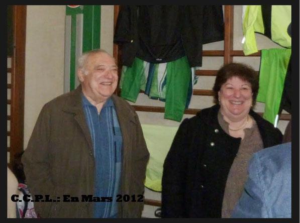 Les anciens du CCPL ont une pensée émue pour Georges qui vient de nous quitter mais aussi pour sa fille Annie qui a si longtemps travaillé avec lui au sein de notre club...