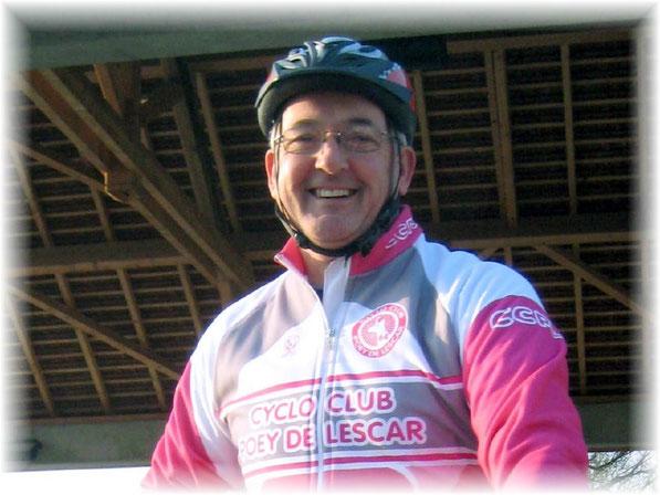 Jean-Jacques devrait reprendre le vélo dans nos rangs d'ici quelques semaines...