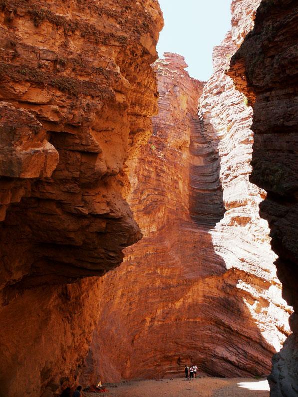 Das sog. Anfiteatro, Quebrada de las Conchas (Foto Jörg Schwarz)