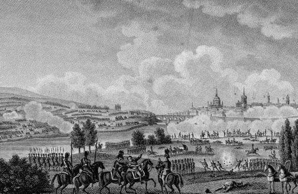 Gevechten bij Dresden aug. 1813