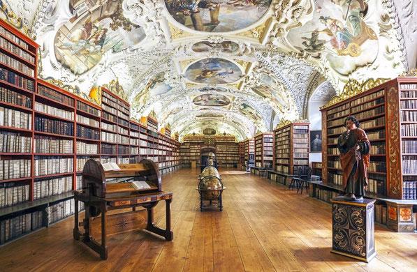 Bibliotheek Strahov Klooster