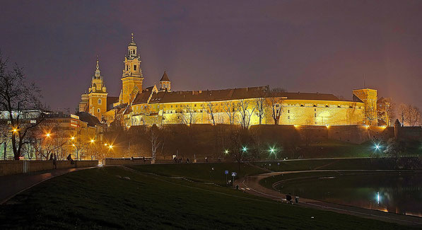 Wawel ( Klik op foto voor panorama )