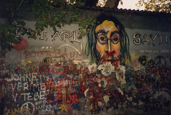 De muur in 1993