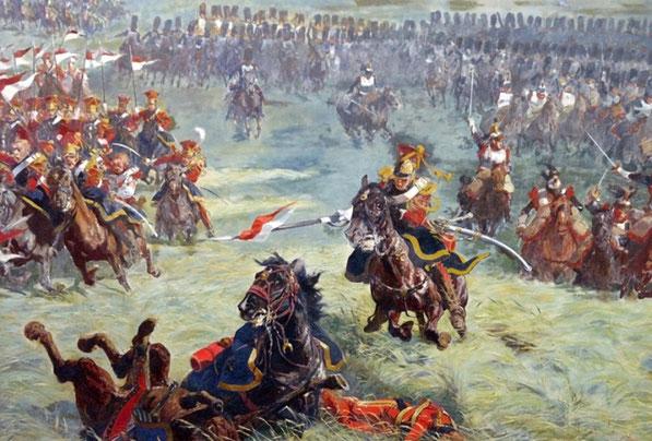 Panorama Slag bij Waterloo