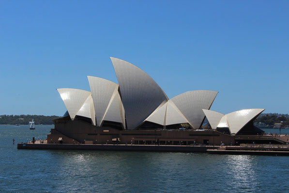 Das Operahouse auf Bennelong-Point