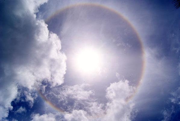 Ein kreisrunder Regenbogen?!