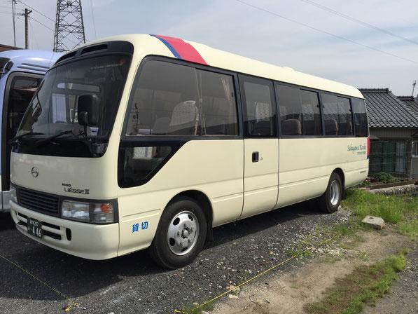 バス車両 小型28人乗りマイクロバス