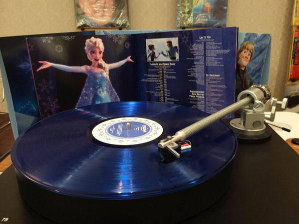 「アナと雪の女王」アナログ・レコード(3枚組)