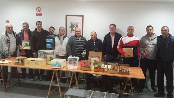 Algunos socios: Sergio, Antonio, Chedey, Rayco, Jose Luis, Rafael, Adolfo, Germán, Óliver, Ramsés y Carlos. Juan Viera saca la foto.