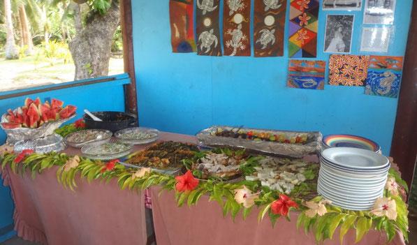 Food, Caqalai, Fiji
