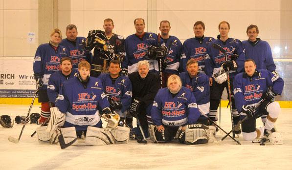 Das Team der HobbyEisFlitzer im SC Langenhagen (3/2014)