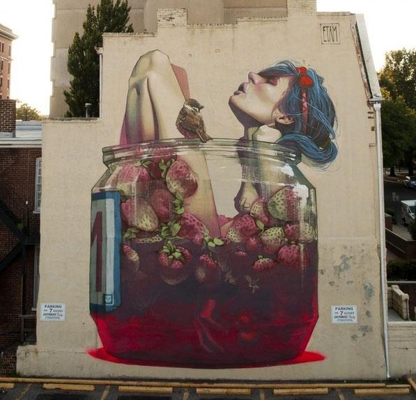 Mural de Mateus Gapski.