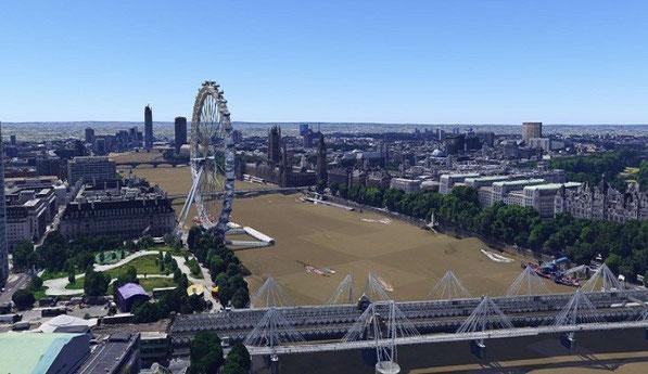 Londres en 3D.