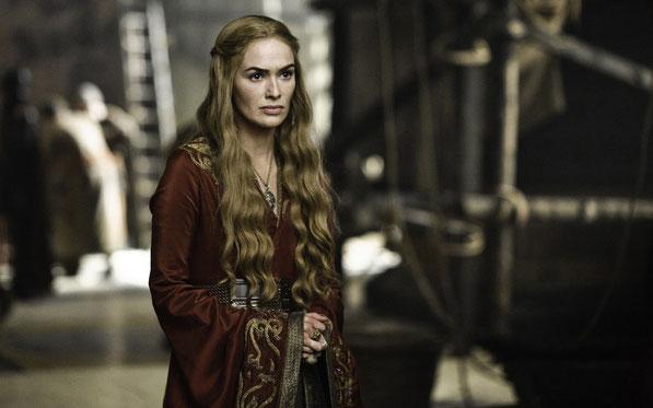 Lena Headey y Cersei Lannister