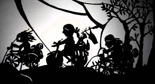Schattentheater für Erwachsene und Kinder