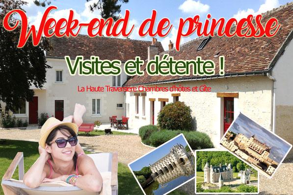 La Haute Traversière Chambres d'hôtes Francueil 37 Indre-et-Loire proche Chenonceau Amboise