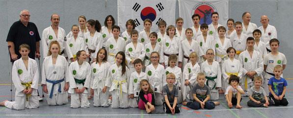 """Training am 12.11.2014 mit einigen unserer """"Bonsais"""""""
