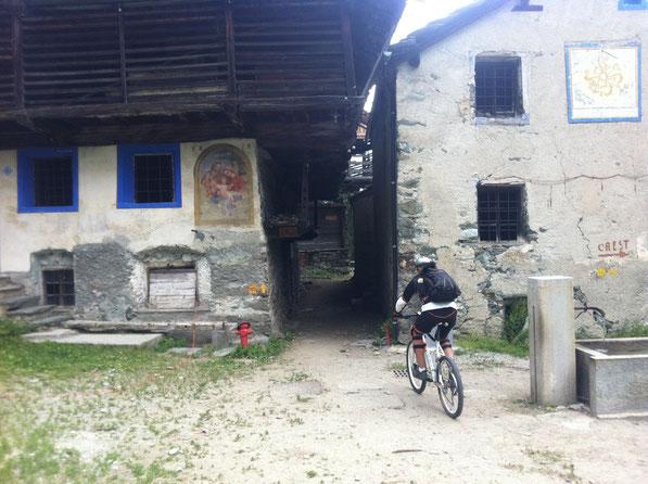 Mascognaz è un piccolo borgo particolare