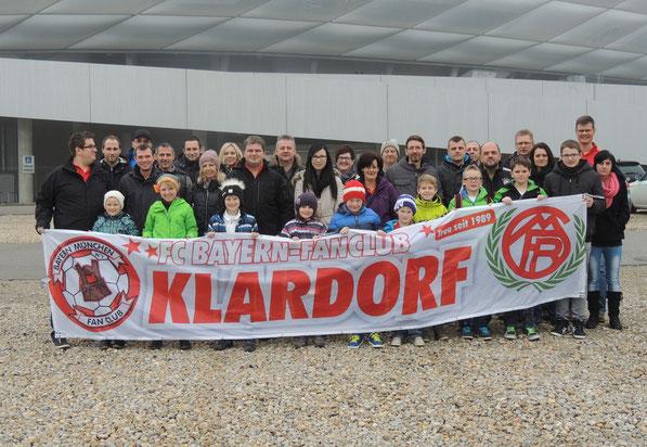 18.01.2014 - Besuch der FC Bayern Erlebniswelt
