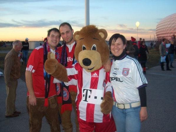 2010 - Bundesligaspiel FC Bayern gg. 1. FC Nürnberg