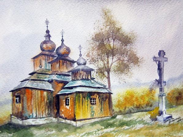 Dobroslava - cerkiew