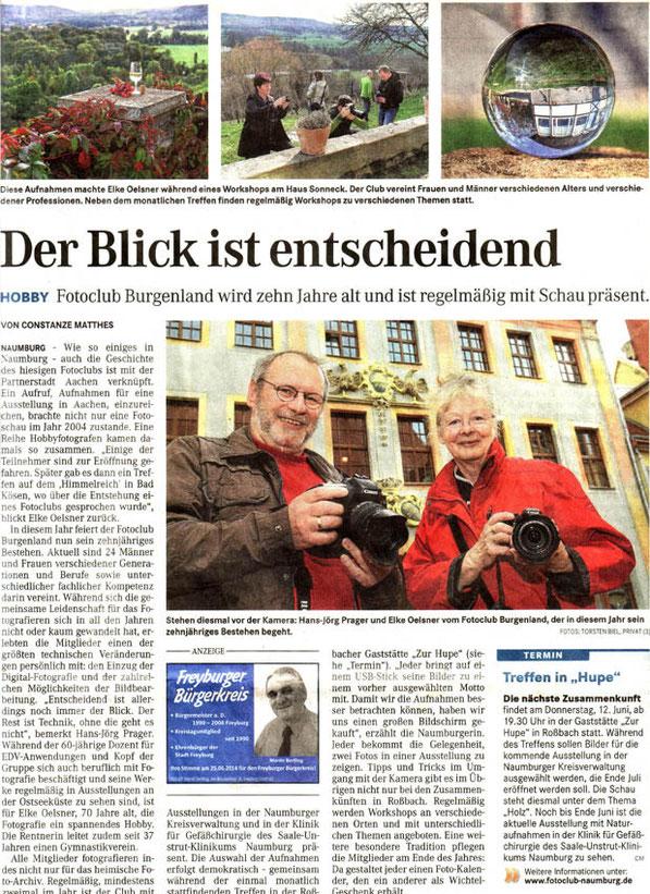 Fotoclub Burgenland wurde 10 Jahre alt ! - NMB Tageblatt 05/2014