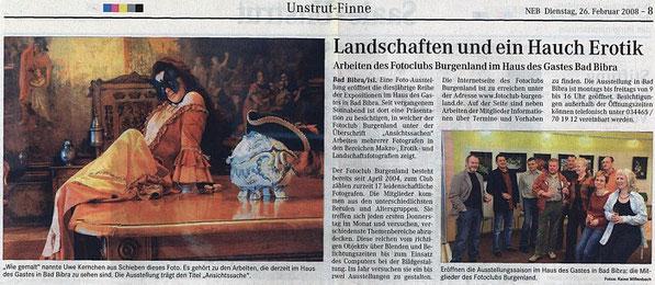 """""""Haus des Gastes"""" in Bad-Bibra. Wochenspiegel 02/2008"""