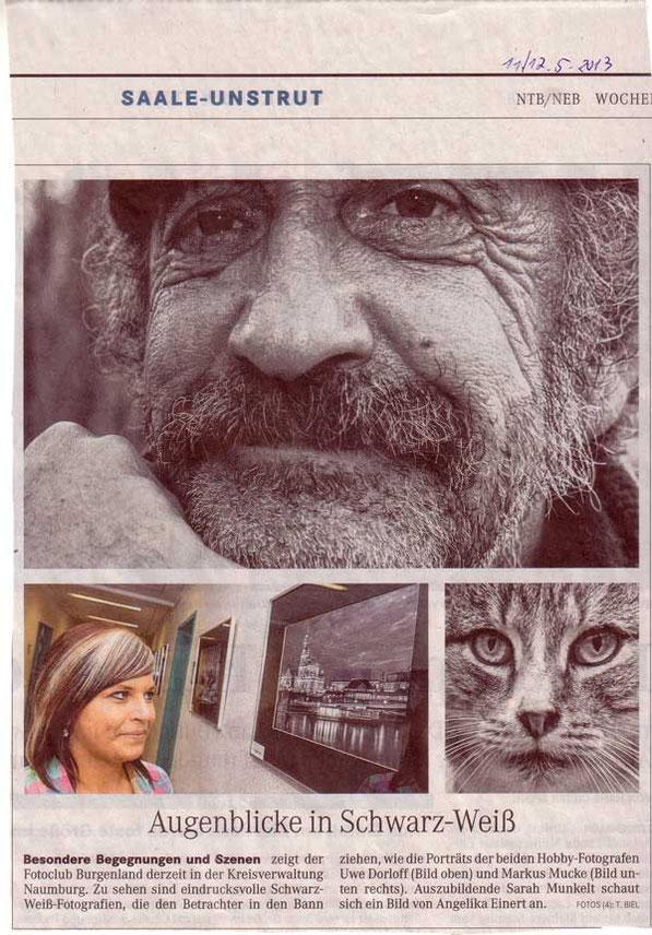 NMB Tageblatt: Schwarz-Weiß (11/12.05.2013)