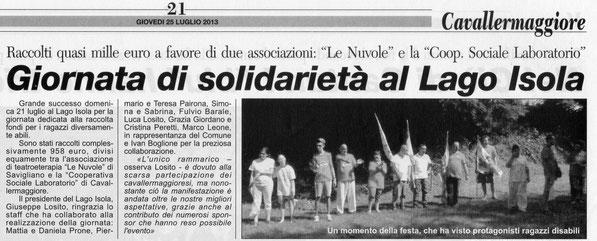 Corriere di Savigliano il 25-07-2013