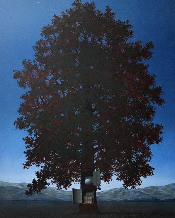 """R. Magritte, """"La voce del sangue"""", 1959"""