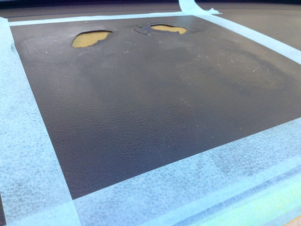スバル・レガシィのダッシュボードをリペアしました。千葉県松戸市 トータルリペア ラディックスの出張施工
