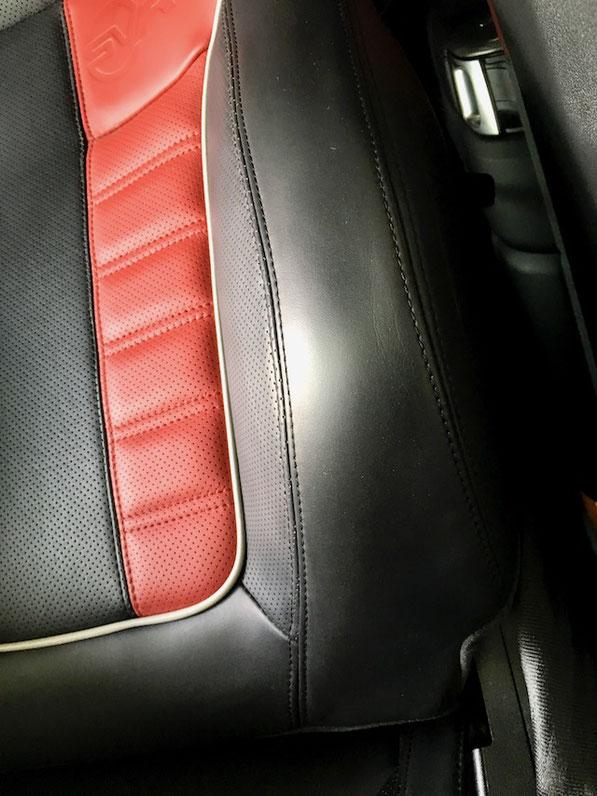 松戸市トータルリペア ラディックス インテリアリペア シートリペア レザーシートを綺麗に修理