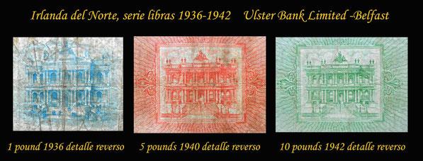 Edificio sede del Ulster Bank Limited de Belfast en los años '30 del s.XX. Ahora Hotel Merchand