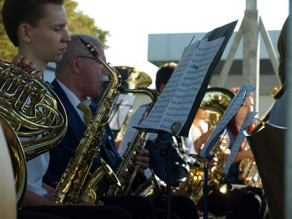 L'Harmonie de Dannstadt-Schauernheim en concert à Bétheny. (Sept. 2016)