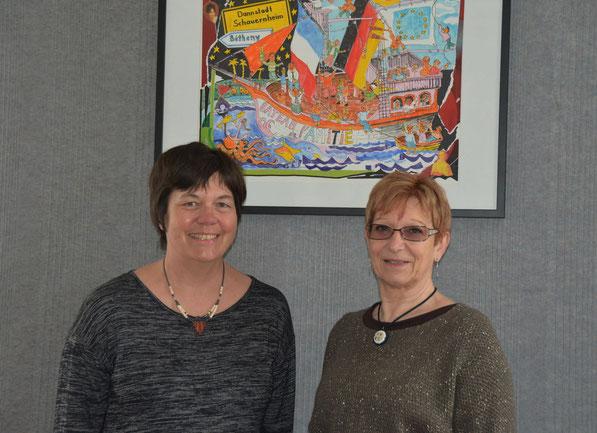 Catherine RICOTTIER succède à Annette CLAUDE au poste de présidente.