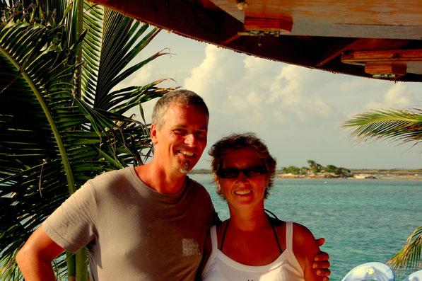 """Auf """"Happy-Island"""" / SVG  in der Karibik"""