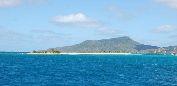 Wie auf einer Postkarte: Sandy-Island, Carriacou / GRENADA