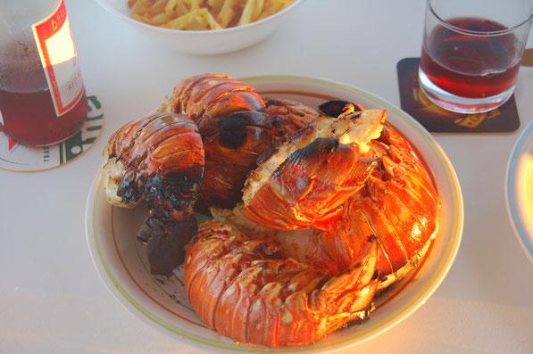 Die Lobsterplage in diesen Gewässern ist wirklich erheblich....hihihihihi